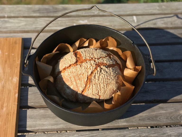 Ein leckeres Joghurt Brot aus dem Petromax FT6