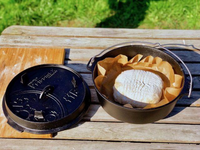 Zubereitung des Joghurt-Brot