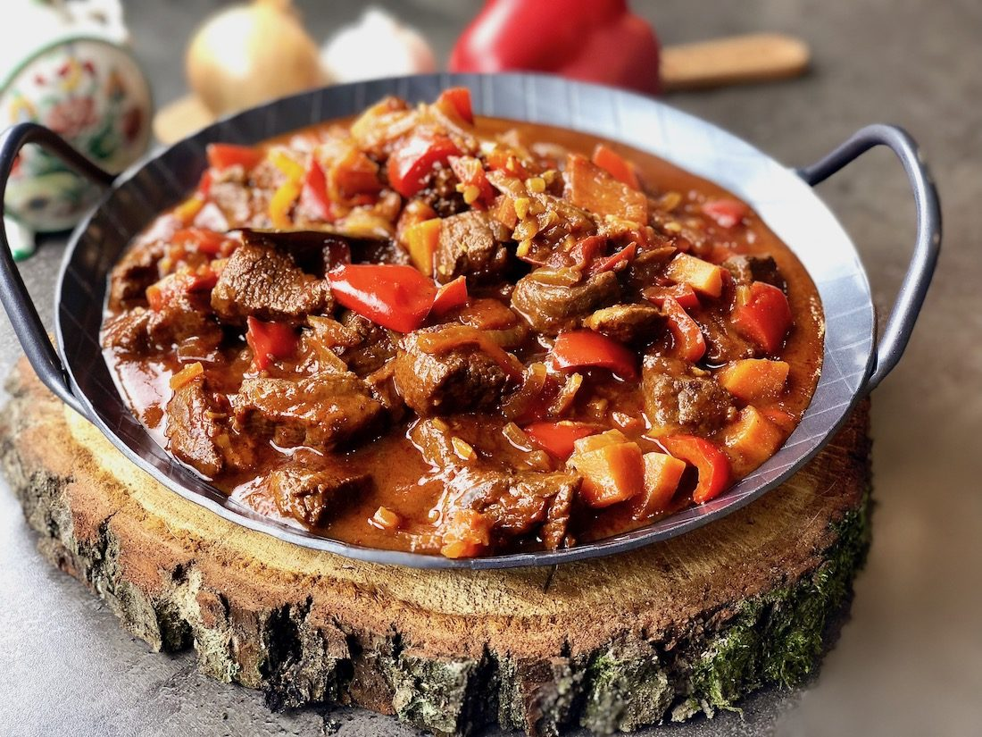 Pörkölt the real Hungarian goulash